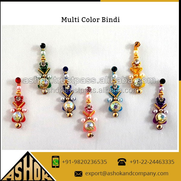 Cosmetic indian pearl bindi Manufacturer & supplier