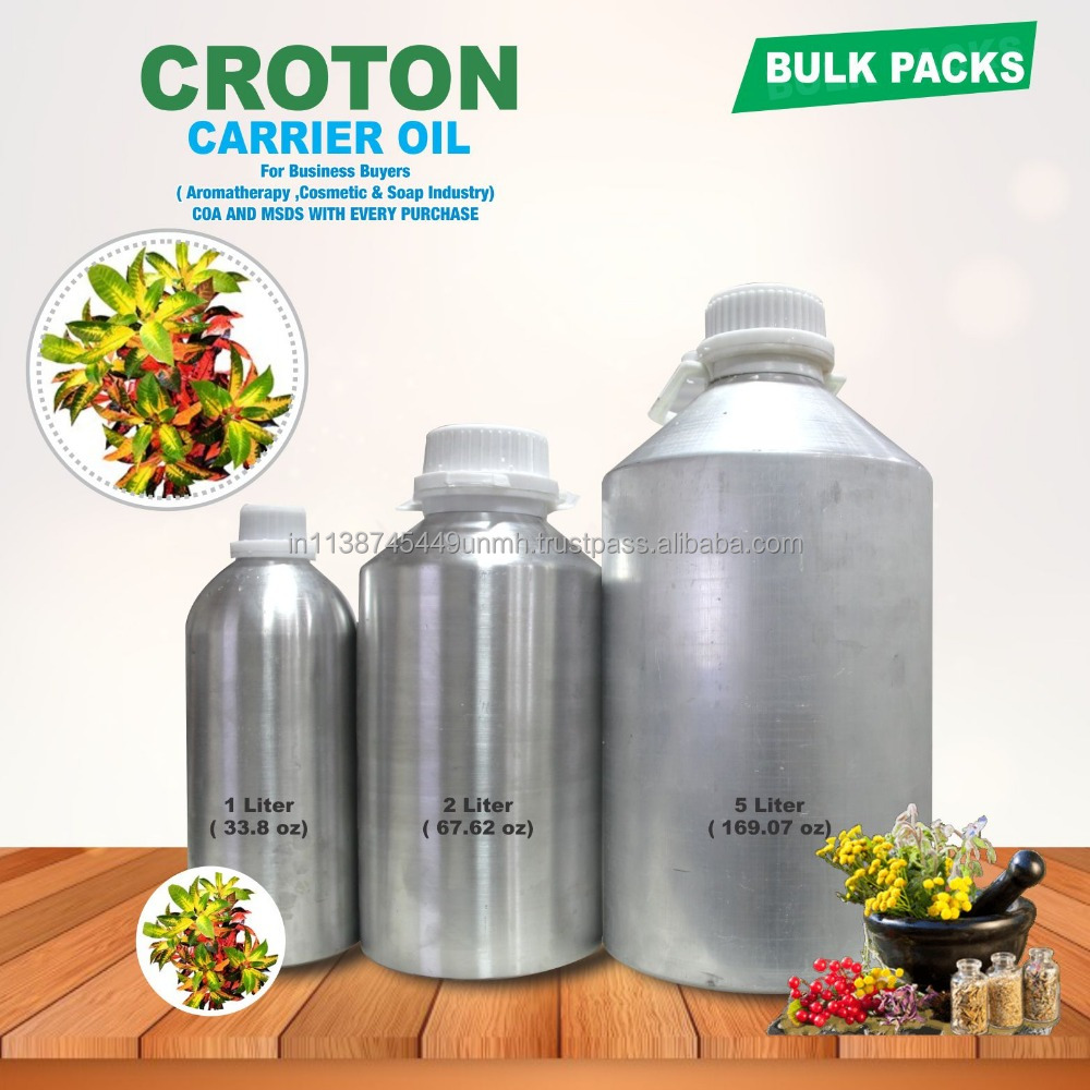 100 % PURE AND NATURAL CROTON OIL (CROTON TIGLIUM)