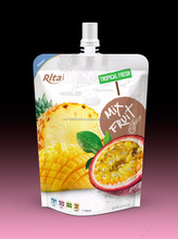 Private label Mixfruit juice in bag