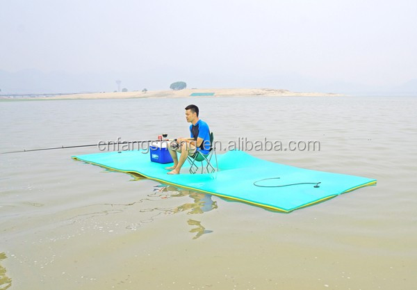 Brand new anti-slip styrofoam floats diy water mat with high quality