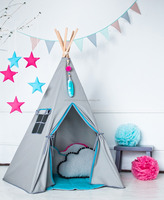 Kids Teepee Tent Indian, 2016 Wholesale Trendy Hot Teepee Tent for Kids
