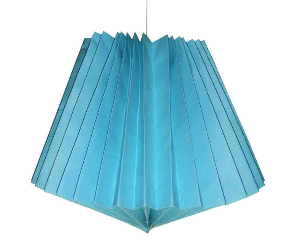 HANDMADE HANGING LAMP FOLDABLE STYLE LIGHTING WITH BOX PACKING DECORATIVE ORIGAMI PAPER LAMP