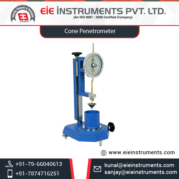 Durable and Reliable Cone Penetrometer at Low Price