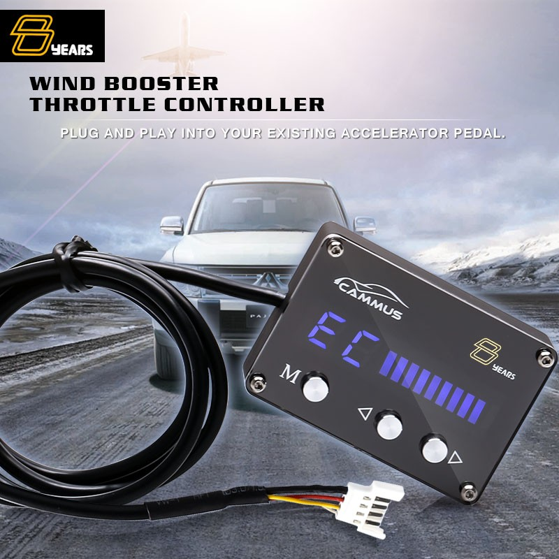 Electro Magnetic Compatibility Pedal box review automatic transmission Fuzz box throttle controller for FORTUNER