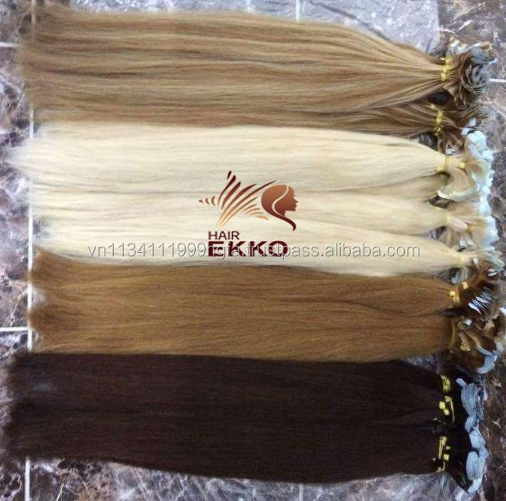 2017 Singapore color prebonded hair Tape mixed colored Natural Hair Extensions double drawn hair 30cm 600g