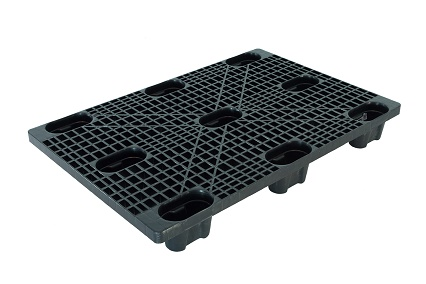 800x1200 Euro size plastic pallet for export and industrial
