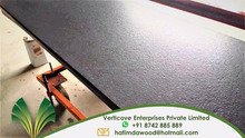 Absolute Black Granite leather finish slab