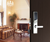 Alpha electric lock for door with high security dimple key
