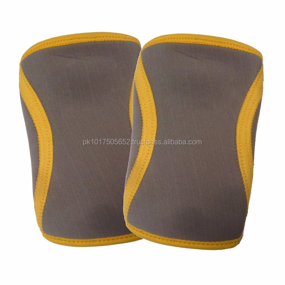 Professional neoprenes 7mm knee sleeve for crossfit