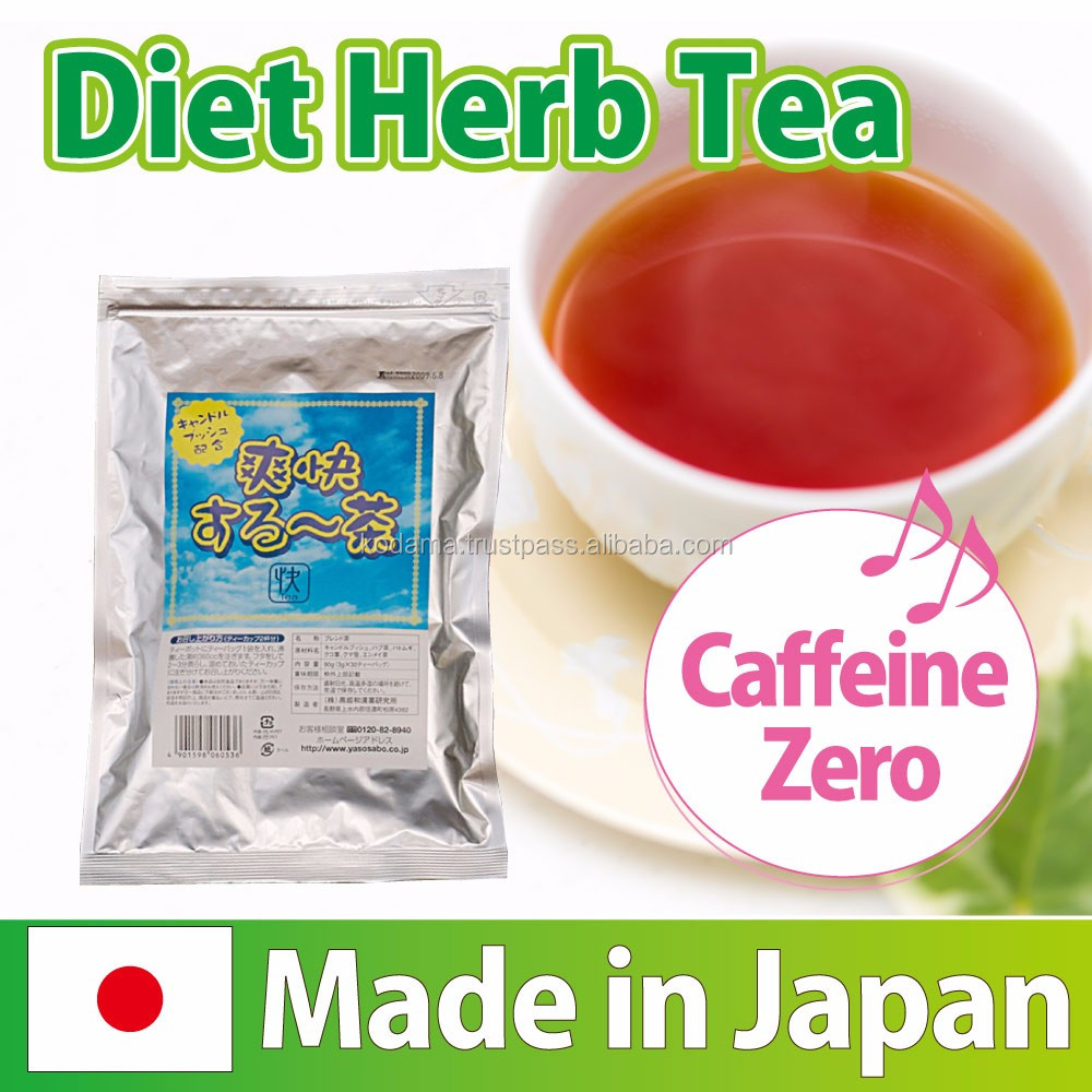 High quality and Best-selling fast fit weight loss Diet herb tea with candle Bush made in Japan