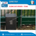 Sturdy Design Sliding Gate Opener Made In Italy