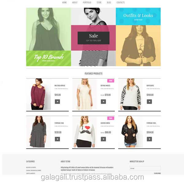 Affordable Web Hosting and Magento Website Design and Development for Fashion and Footwear