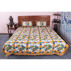 100 % Cotton Fashion Three piece-suit bedding/bedcloth full King Size Bed Cover