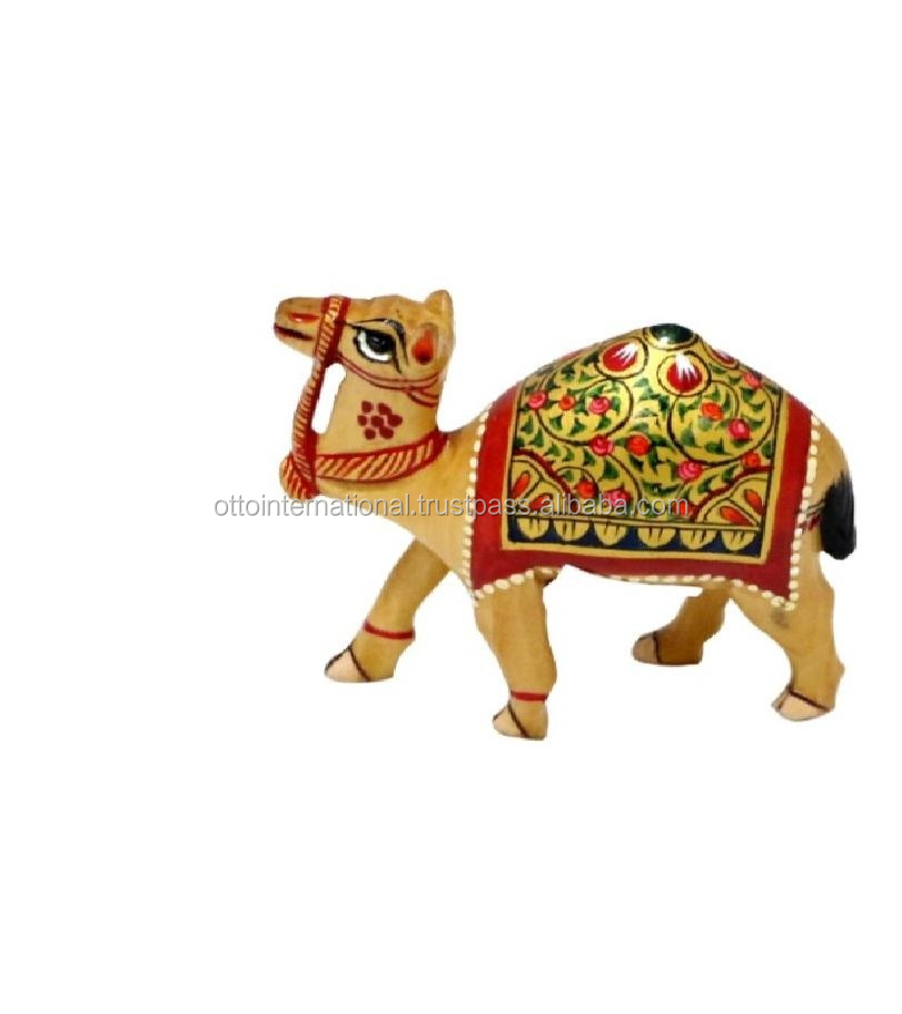Wooden Carving Camel