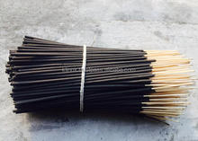 9 inches Black Charcoal Unscented Raw Agarbatti / incense stick