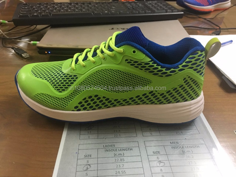KPU material breathable cotton men sport shoes upper with low price