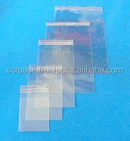 BOPP Tape Seal Bags Packing For Watch Case( BSB-101)