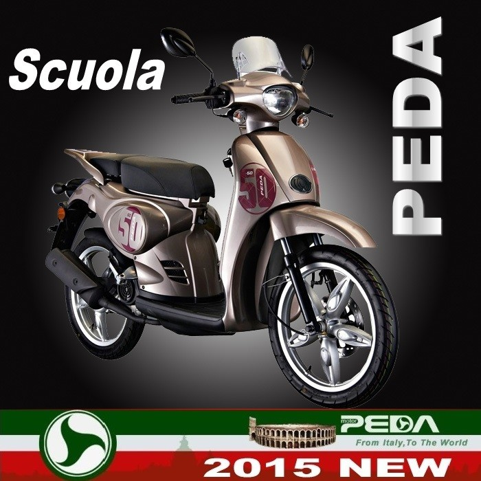 (Scuola) 2017 NEW DOT EPA Motorcycle Gas scooter for sale EEC COC 50cc 125cc 150cc Italian Design High Quality (PEDA MOTOR)