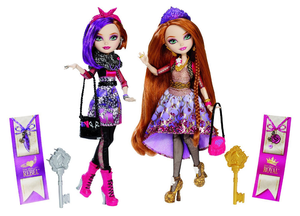 Ever After High Holly and Poppy O'Hair 2-Pack Doll Set