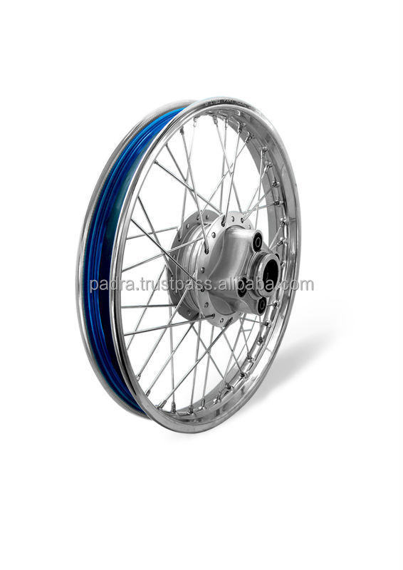Steel Complete Wheel for Motorcycle CG125 For Iraq Market