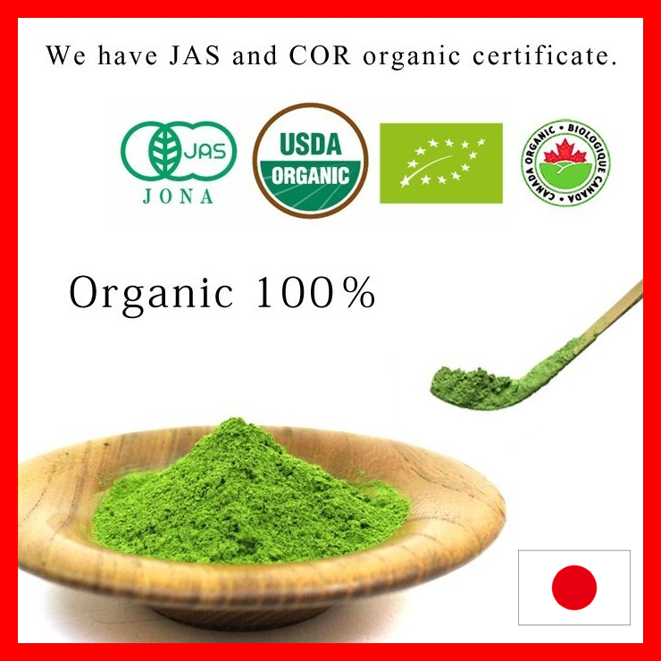 High quality matcha green tea with traditional made in Japan