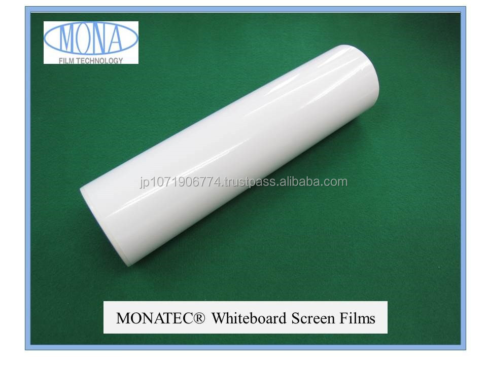 High quality and Durable magnetics whiteboard MONATEC white board film
