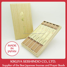 Baieido Incense Sticks, Premium Set, pure incense stick, Kokonoe, Ho ryu, Kun Sho, Koh en, Koh Shi Boku, high quality incense