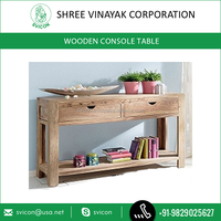 Best Sale of Wooden Antique Console Table with Mirror