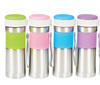DRI1415 Rainbow Stainless Steel Bottle with Tea Lattice