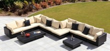 Poly Rattan Garden Furniture Natural Rattan Sofa. We Supplier Rattan/Wicker Furniture From VIETNAM - D.L