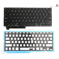Factory price for Apple Macbook A1286 laptop keyboard with backlit US UK SP RU PO layout