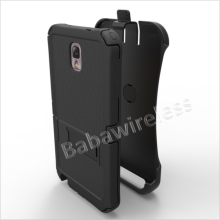 Super Armor Hybrid Holster with Screen with Kickstand For Samsung Galaxy Note 3