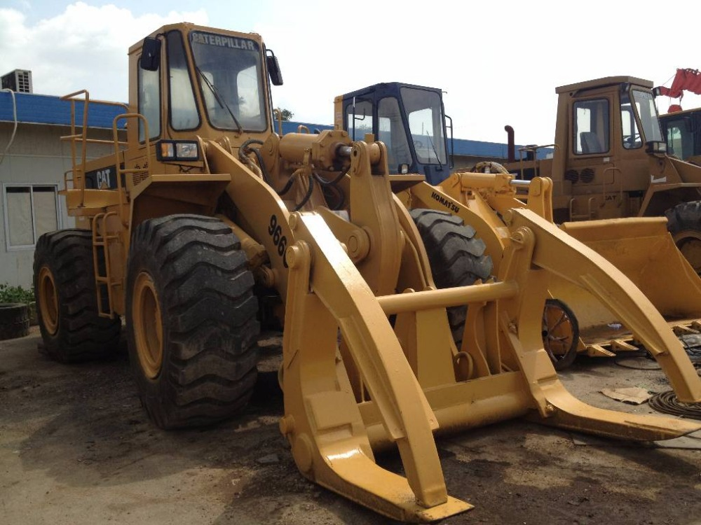 Earth moving loader front loader 966c wheel loader with Caterpillar engine/Cat Secondhand 966C Wheel Loader for sale by owner (w
