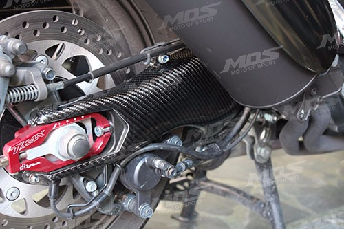 T-MAX 530 TMAX 530 Carbon Fiber Rear Swing Arm Protector(right side) XP500