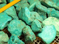 Turquoise gemstone by the kilo