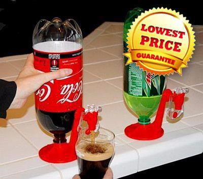 Fizz Saver Soda Drink Dispenser WIthout Power Source