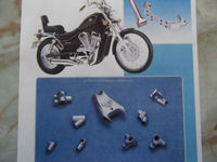 Unique technology and high strength cast iron parts for motorbike 50cc