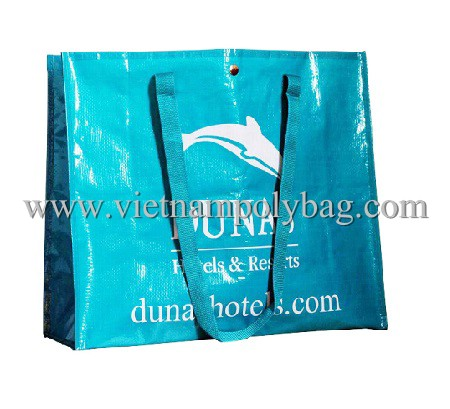 vietnam handled shopping bag fabric pp woven bag