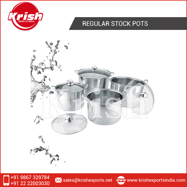 Regular Stock Pots - Dome Lid