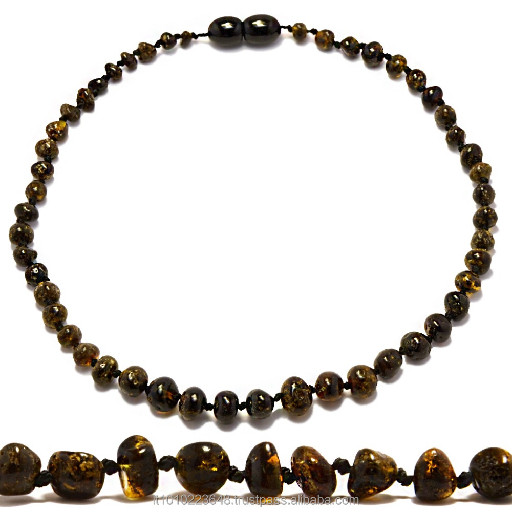 Baltic amber teething necklaces wholesale !