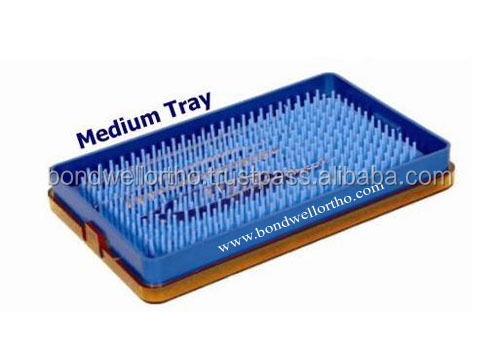 Medium Medical Tray with Mat - Ophthalmic Tray