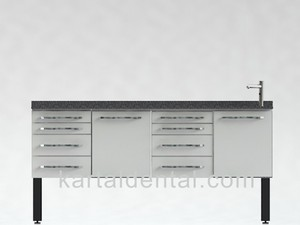 Dental furniture cabinet - Clinic equipment