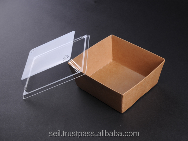 Food grade paper box , Kraft paper food container ,