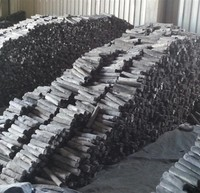 Long time burning and high quality wood charcoal