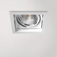 Macroquadro Recessed luminaire with LED lighting system.