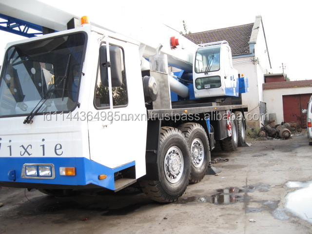 TADANO 90 ton nissan ud crane truck for sale in shanghai