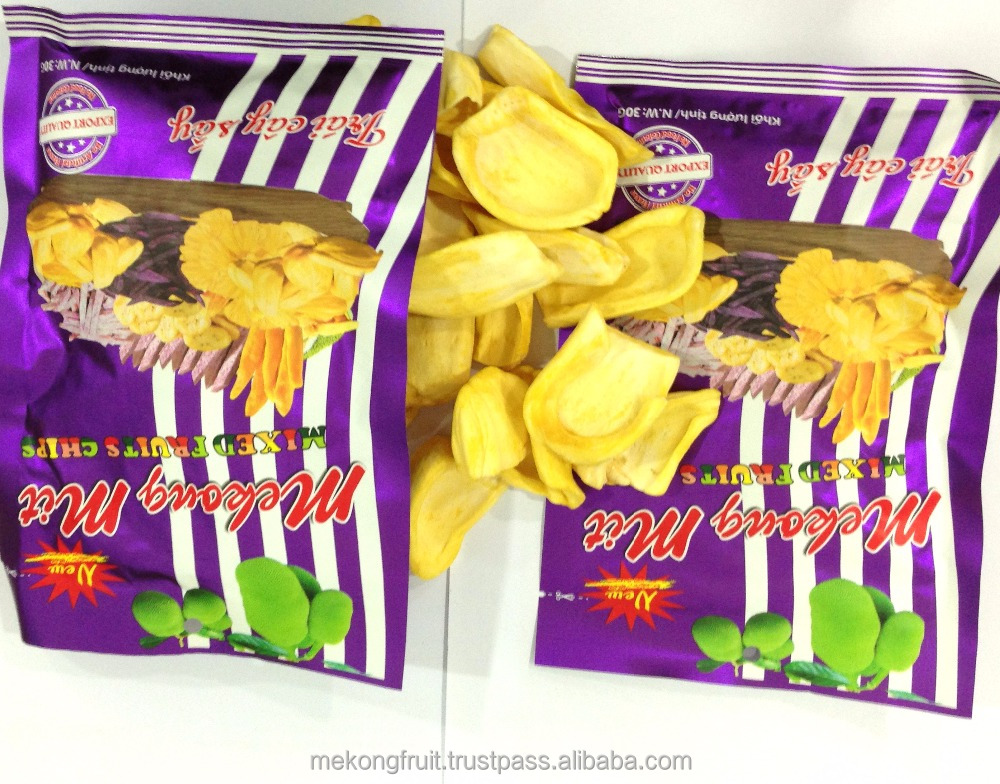High Quality - Hot Sale Dried Fruit - Jackfruit - Sweety - Three size of bags: 30 grams, 120 grams, 250 grams