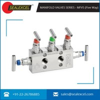 Assured Quality Five Way Manifold Valve for Flow Control