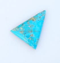 Triangle Shape Mohave Turquoise Loose Gemstone
