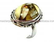 Magnificent!! YCR6633 Wedding Ring/Silver Ring Jewellery K1513 Sterling Beads Jewelry Making Topaz Gemstone Ring